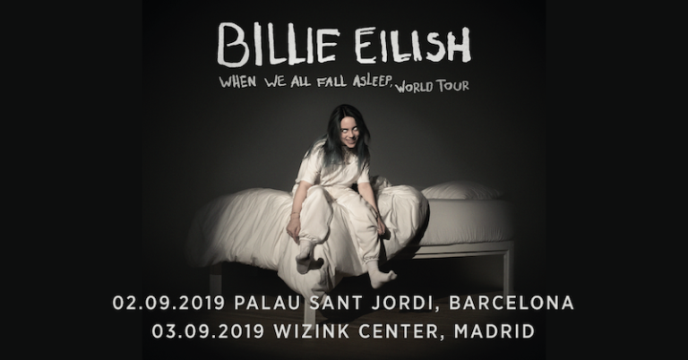Billie Eilish amplía su afoto en Madrid y Barcelona